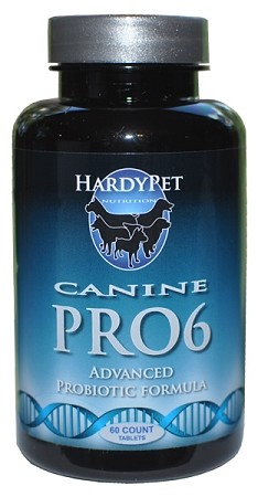 HardyPet Canine PRO6  (60 Count Bottle)